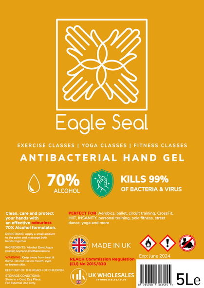 Eagle Seal Antibacterial Hand Gel 500ml