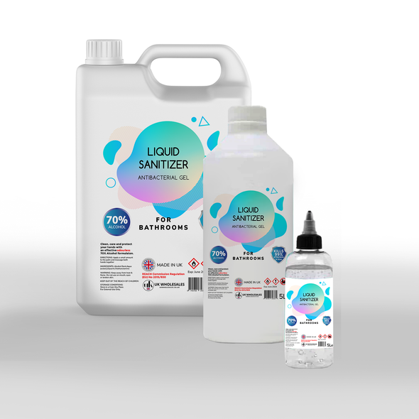 Liquid Sanitizer Antibacterial Hand Gel 500ml