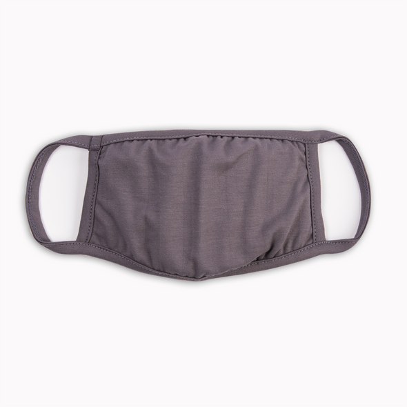 Dark Grey Reusable Washable Face Mask