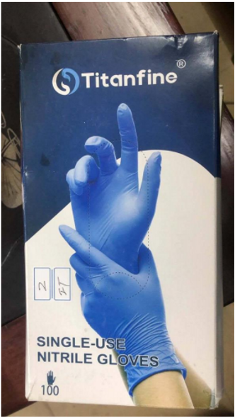 Titans Nitrile Gloves 30K Boxes