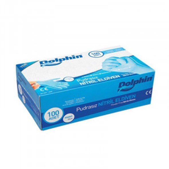 Dolphin En455 Nitrile Gloves 1,00,000 Boxes - Box of 100 Pieces