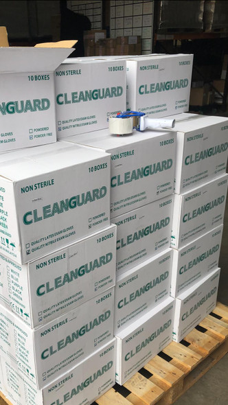 Cleanguard Nitrile Gloves 2,000 Boxes - Box of 100 Pieces