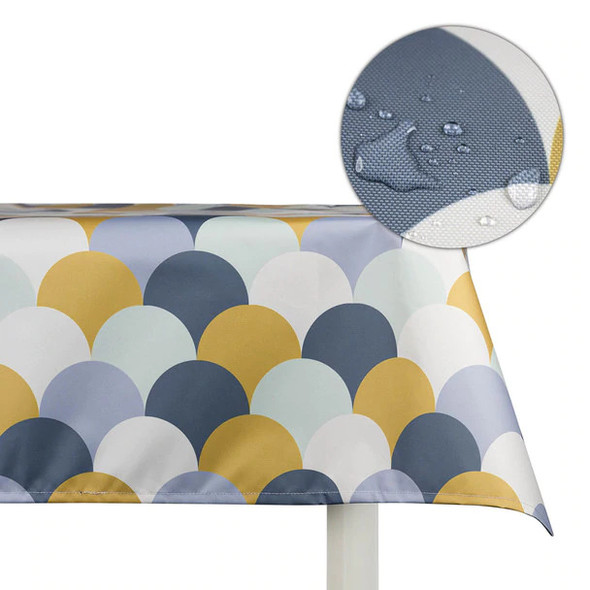 Celina Digby Indoor Tablecloths - Scandi Hills Yellow