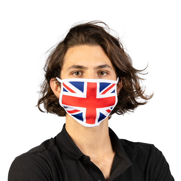 UK Flag Reusable Washable Face Mask