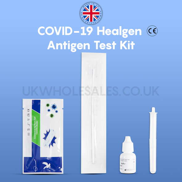 Healgen Antigen Rapid Test Kit - Nasal Swab