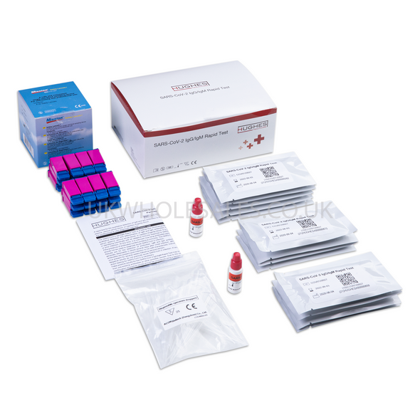 Antibody Lateral Flow Test Kit SARS-COV-2 (IgM & IgG) - Finger Prick
