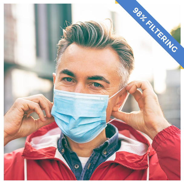 98% Filtering Surgical Face Mask
