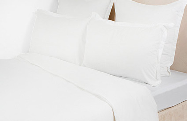 Cotton Rich Flat Sheets 70/30, Cotton/Polyester - Pillow Cases