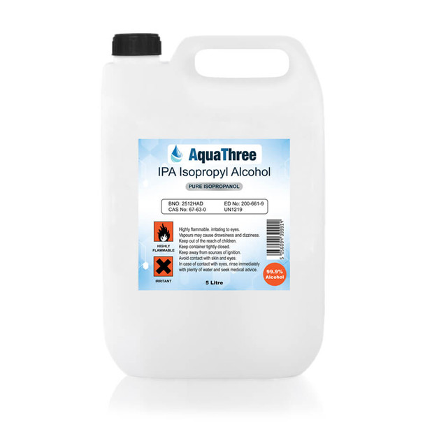 UK Wholesales Isopropyl Alcohol 99.9% IPA – Jerry Cans available in 25L and 5L