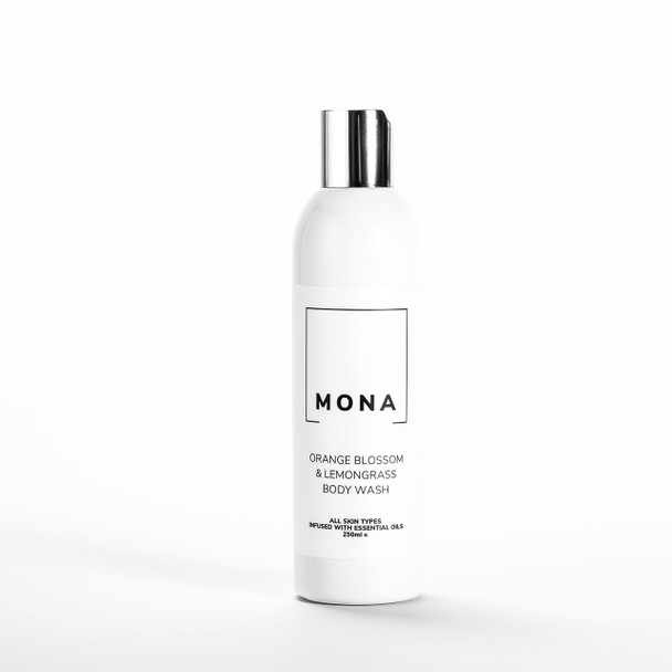 Mona Living Orange Blossom and Lemongrass Body Wash 250ml