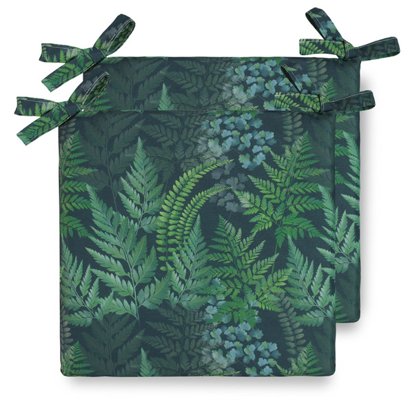 Celina Digby Water Resistant Garden Seat Pads - Ferns