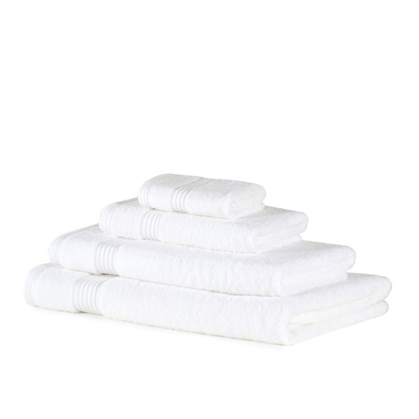 Premium Bamboo Collection Towels - 700 GSM Super Soft (White)