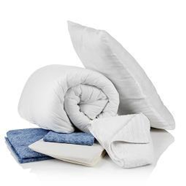 Complete Bedding Pack with 10.5 Tog Duvet & Towels - Double Size