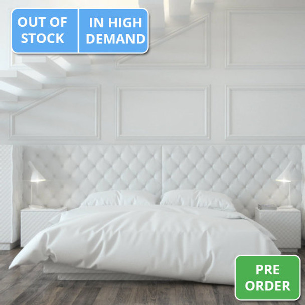 800 Thread Count 100% Cotton Bed Linen - Flat Sheets