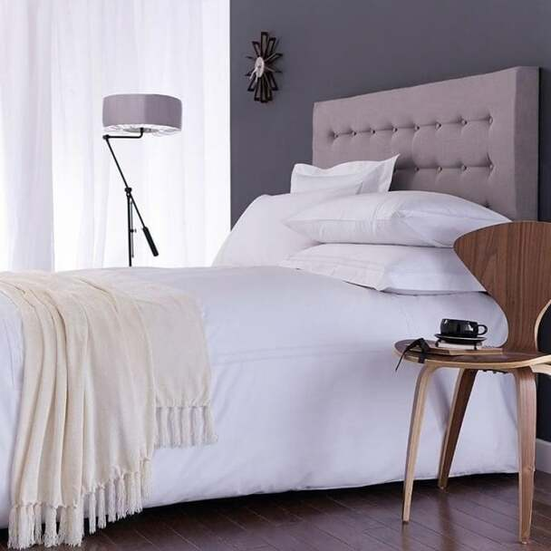 Chenille Throw 150x200cm  Ivory - Acrylic/Viscose Material