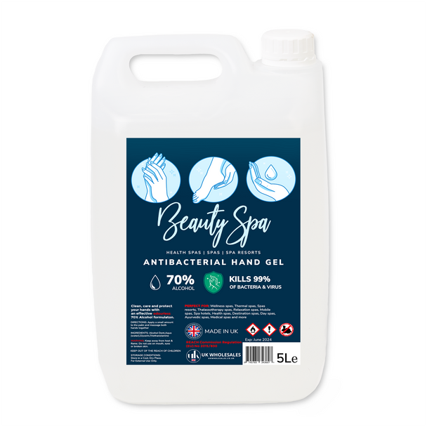Beauty Spa Antibacterial Hand Gel 5L