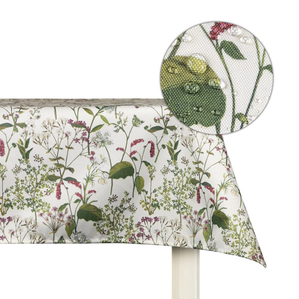 Celina Digby Indoor Tablecloths - Welsh Meadow Cream