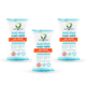 Anti Bacterial Wipes Pocket Size 15 Sheets (3pc)