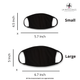 Black Soft Touch Washable Reusable Face Mask (main)