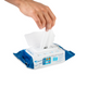 Self Protect 75% Alcohol Wipes- 50 Sheets (open)