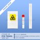 1 Covid-19 PCR Travel Test - With Fit to Fly Certificate
