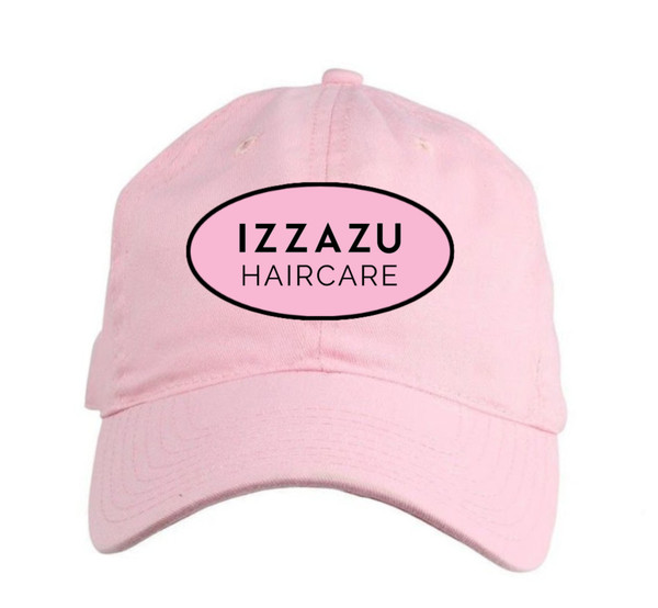 Izzazu Haircare Women's Fit Pink Hat
