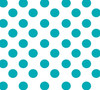 Turquoise Dots