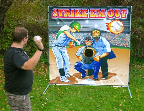 Strike Em Out Frame Game