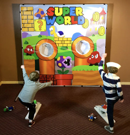 Super World Frame Game