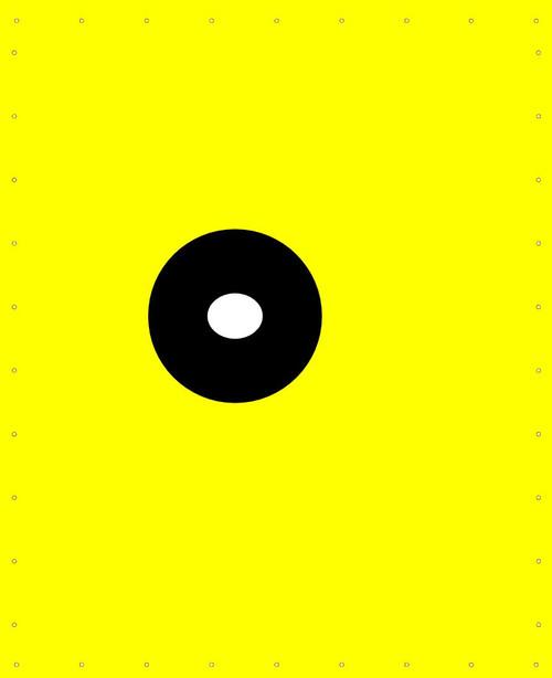 Canvas Dunk Tank 6' Yellow