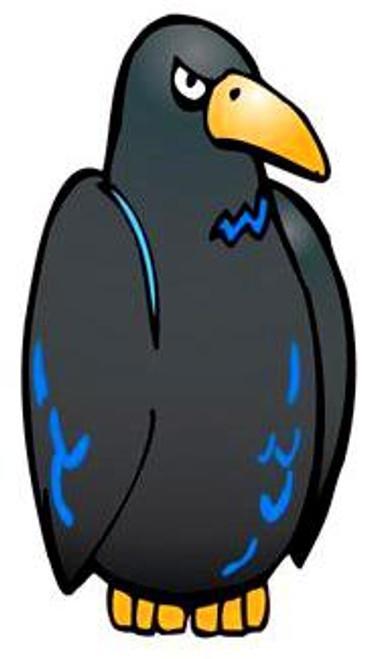 Conk the Crow Medium Crow