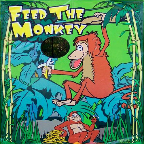 Feed the Monkey Canvas