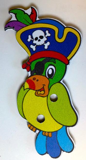Pirate Treasure Game Piece, Parrot