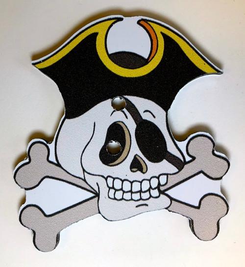Pirate Treasure Game Piece, Skull