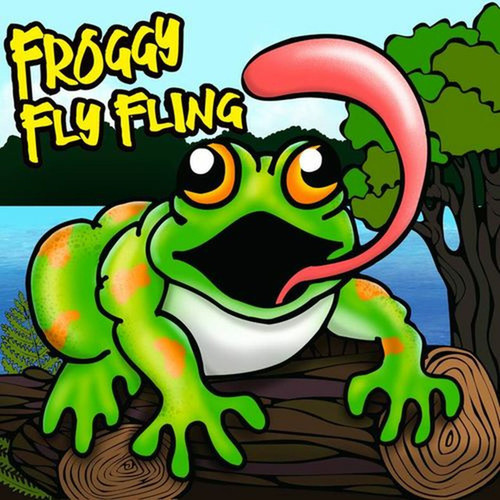 Froggy Fly Fling Canvas