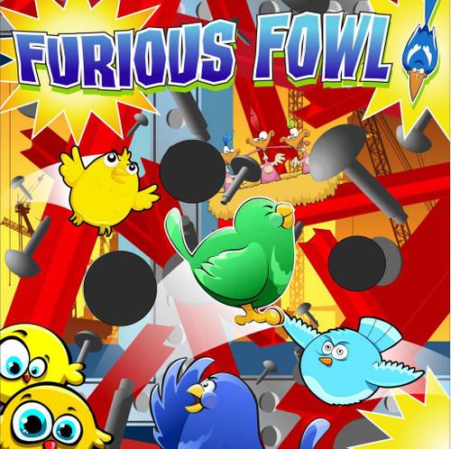 Furious Fowl Canvas