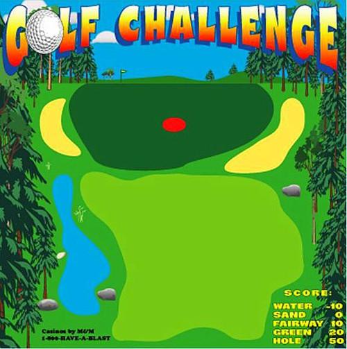 Golf Challenge Canvas