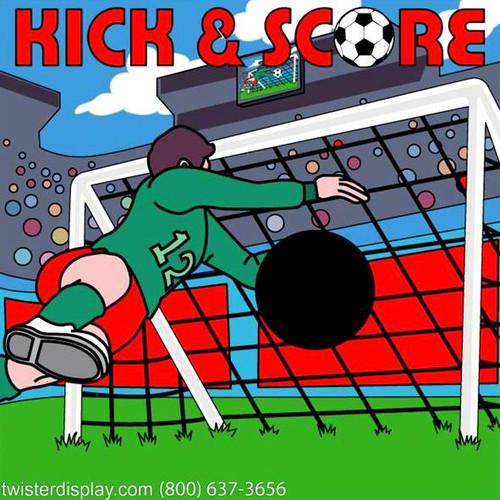 Kick & Score Soccer Canvas