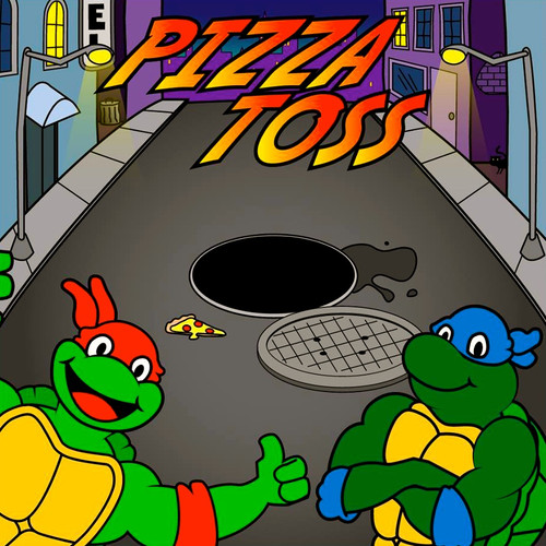 Pizza Toss Canvas