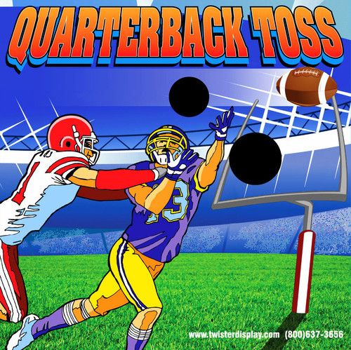 Quarterback Toss Canvas