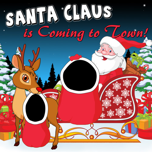 Santa Claus is Coming to Town Canvas