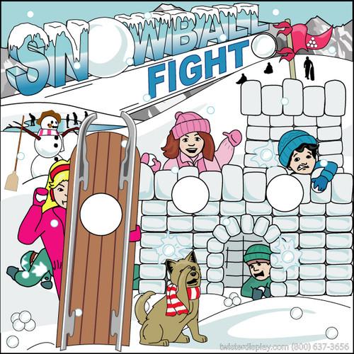 Snowball Fight Canvas