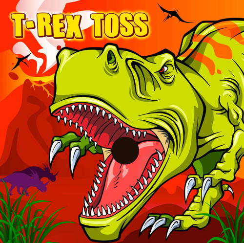 T-Rex Toss, Canvas