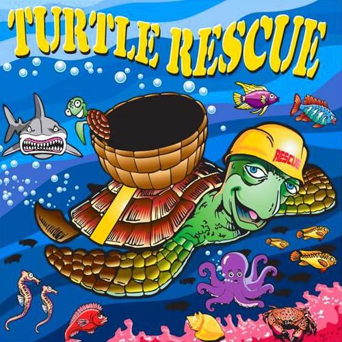 Turtle Rescue, Canvas