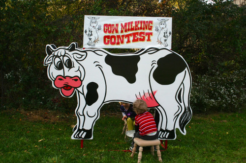 Cow Milking Contest, Double