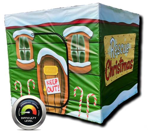 Rescue Christmas Portable  Escape Room Game