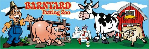 Barnyard Petting Zoo Canvas