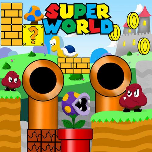 Super World Canvas