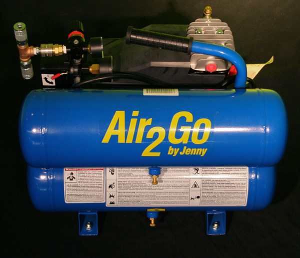 Pit Stop Challenge Air Compressor