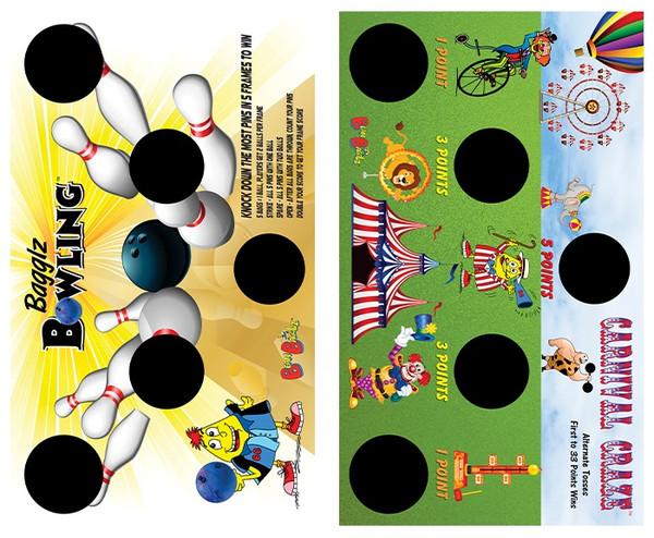 BeanBagglz Boardz, Bagglz Bowling - Carnival Craze